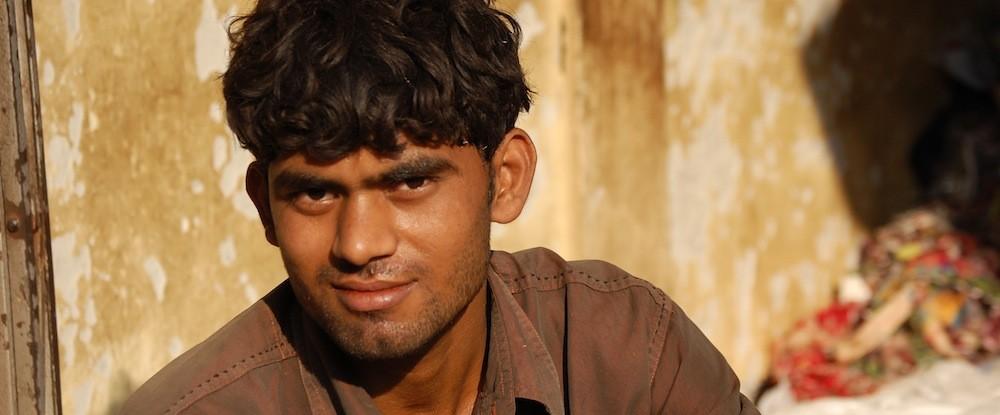 Muslim man in India